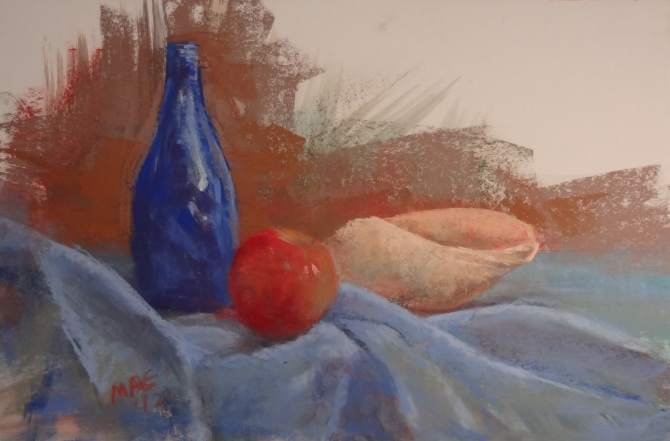 """Pastel on Paper 16"""" by 20 """""""