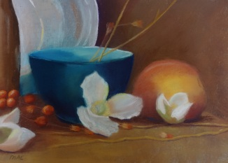 """Pastel on Paper 9 by 12"""""""