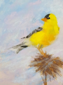 goldfinch2painting