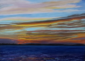 Sunrise Over Muscle Ridge Islands
